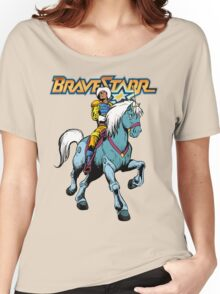 BraveStarr - Thirty Thirty and BraveStarr #4  - Color Women's Relaxed Fit T-Shirt