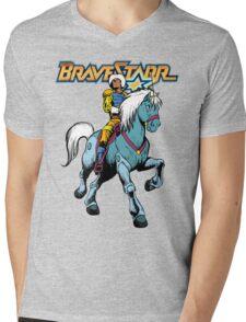 BraveStarr - Thirty Thirty and BraveStarr #4  - Color Mens V-Neck T-Shirt