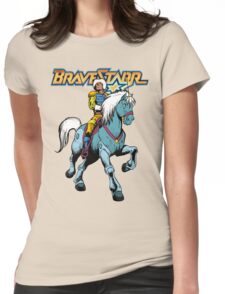 BraveStarr - Thirty Thirty and BraveStarr #4  - Color Womens Fitted T-Shirt