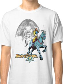 BraveStarr - Tex Hex, Thirty Thirty, and BraveStarr  - Color Classic T-Shirt