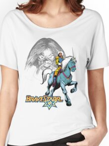BraveStarr - Tex Hex, Thirty Thirty, and BraveStarr  - Color Women's Relaxed Fit T-Shirt