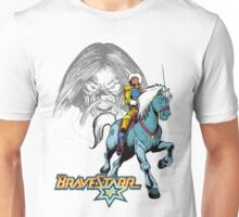 BraveStarr - Tex Hex, Thirty Thirty, and BraveStarr  - Color Unisex T-Shirt