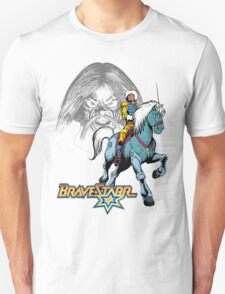 BraveStarr - Tex Hex, Thirty Thirty, and BraveStarr  - Color T-Shirt