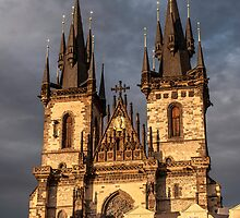 Church of Mother of God, Prague. by FER737NG