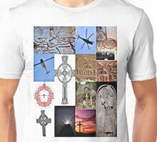 cross in the sky Unisex T-Shirt