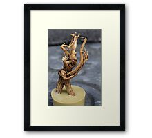 Cheeky Roots Framed Print