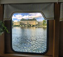 Being on the Rivers Edge in a Stockholm Ferry  (1)    by Larry Lingard-Davis