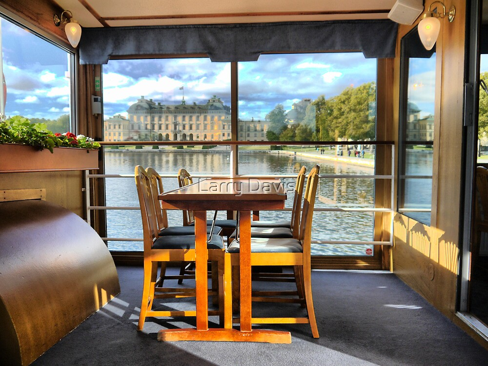 Being on the Rivers Edge in a Stockholm Ferry  (2)    by Larry Lingard-Davis
