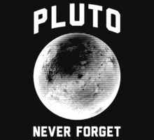 Pluto Never Forget by Look Human