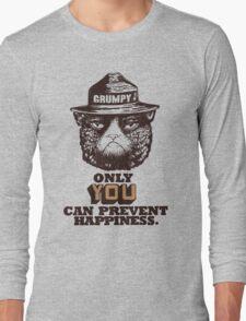 Grumpy PSA Long Sleeve T-Shirt