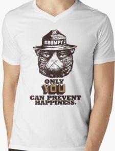 Grumpy PSA Mens V-Neck T-Shirt