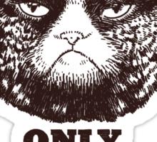 Grumpy PSA Sticker