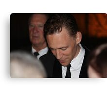 Tom Hiddleston at Toronto International Film Festival 2013 Canvas Print