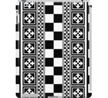 Portugese Patterns Black, Grey & White case iPad Case/Skin