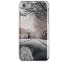 Fantasy Winter Street iPhone Case/Skin