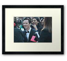 Benedict Cumberbatch at Toronto International Film Festival 2013 Framed Print