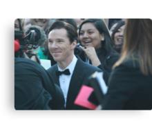 Benedict Cumberbatch at Toronto International Film Festival 2013 Canvas Print