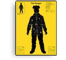 The Danger - Yellow Canvas Print