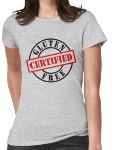 Certified Gluten Free Womens Fitted T-Shirt