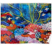 'Coral Sea' Poster