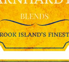 Dr Earnhardt's Rook Island Blend Yellow Label Sticker