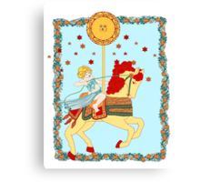 The Tarot Sun  Canvas Print