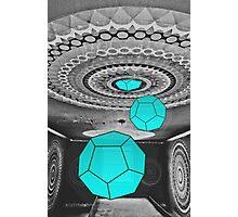 Dodecahedron Manifestation Photographic Print