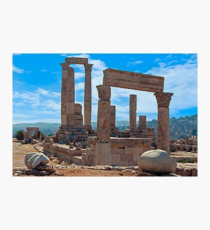The Citadel2, Amman Photographic Print