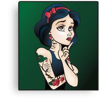 Disney Princesses with attitude - Snow White Canvas Print