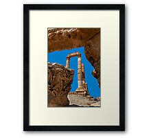 The Citadel3, Amman Framed Print