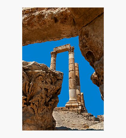The Citadel3, Amman Photographic Print