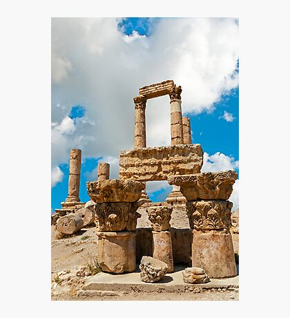 The Citadel4, Amman Photographic Print