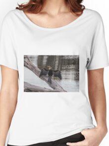 Austalasian Darter Women's Relaxed Fit T-Shirt