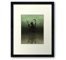 Deathknight Framed Print