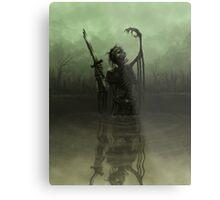 Deathknight Metal Print