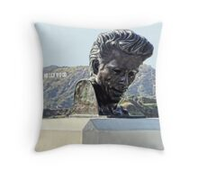 Hollywood and James Dean Throw Pillow