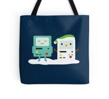 Building SnowMO (Green) Tote Bag