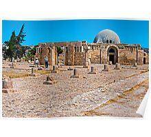 The Citadel Mosque3, Amman Poster