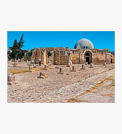 The Citadel Mosque3, Amman Photographic Print