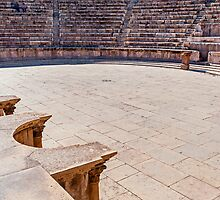The Roman Theatre, Amman by bulljup