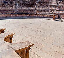 The Roman Theatre, Amman by bulljup