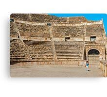 The Roman Theatre2, Amman Canvas Print