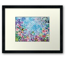 The Florasia Song Framed Print