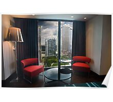Blu Aqua Suite with View Poster