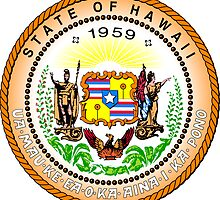 Hawaii | State Seal | SteezeFactory.com by FreshThreadShop