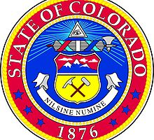 Colorado | State Seal | SteezeFactory.com by FreshThreadShop