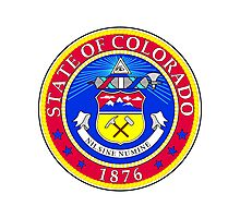 Colorado | State Seal | SteezeFactory.com Photographic Print