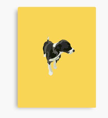 Goldenrod Puppy Canvas Print