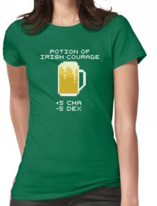 Potion of Irish Courage Womens Fitted T-Shirt