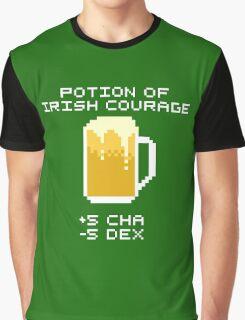 Potion of Irish Courage Graphic T-Shirt